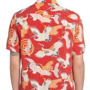 66cc27d2f All Saints Shirts - All Saints Tsuru Hawaiian print shirt